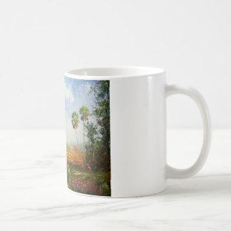 Florida-Ranch-Malerei Kaffeetasse