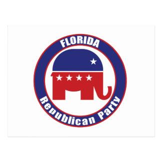 Florida-Republikaner-Party Postkarte
