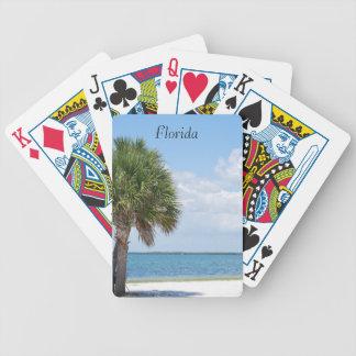Florida - ruhiger Strand Bicycle Spielkarten