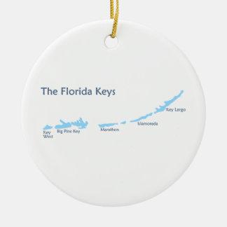 Florida-Schlüssel Keramik Ornament