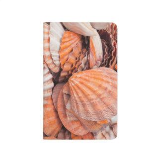 Florida-Schlüssel, Key West, Seashells Taschennotizbuch