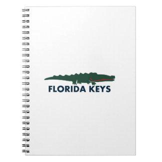 Florida-Schlüssel Notizblock