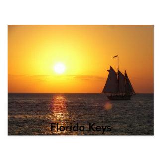 Florida-Schlüssel Postkarte