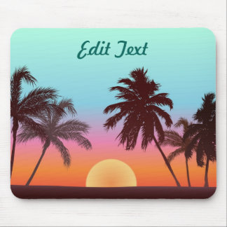 Florida-Sonnenuntergang Mousepad