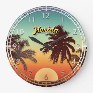 Florida-Sonnenuntergang Wanduhren