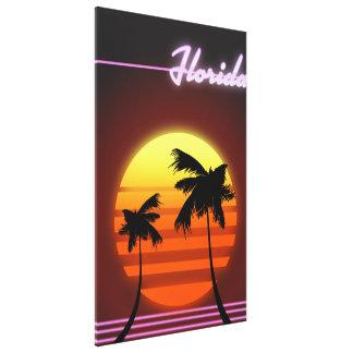 Florida-Sonnenuntergangplakat 1984 Leinwanddruck