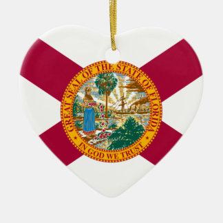 Florida-Staats-Flagge Keramik Ornament