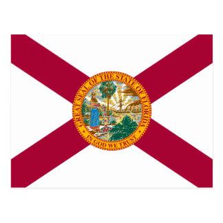 Florida-Staats-Flagge Postkarte