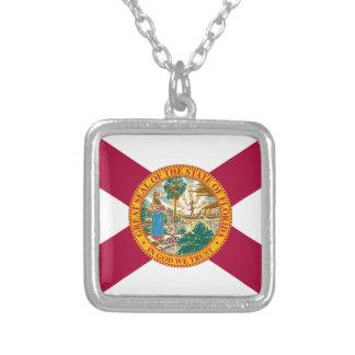 Florida-Staats-Flagge Versilberte Kette