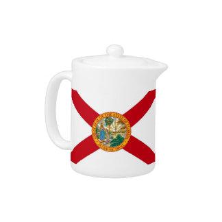 Florida-Staats-Flaggen-Teekanne