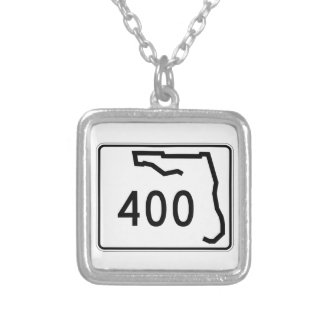 Florida-Staats-Weg 400 Versilberte Kette