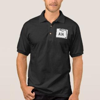 Florida-Staats-Weg A1A Polo Shirt