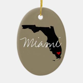 Florida-Stadt Keramik Ornament