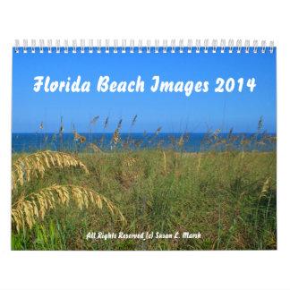 Florida-Strand fotografiert 2014 Kalender