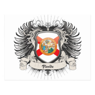 Florida-Wappen Postkarte