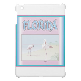Florida-Weiß-Flamingos iPad Mini Hülle