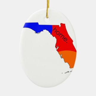 Florida-Zuhause Keramik Ornament