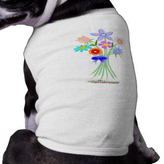 Floristen-Hund Haustierklamotten