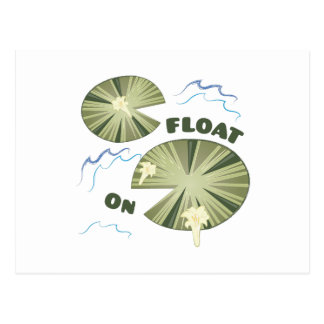 Floss an postkarte