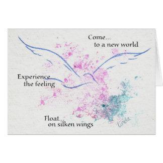 Floss auf seidenen Flügeln Karte