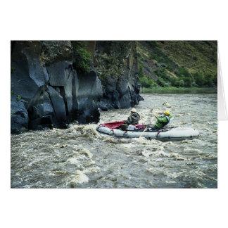 Flößen des Deschutes Flusses #1 Karte