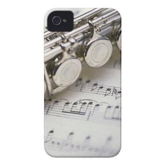 Flöte auf Noten iPhone 4 Hüllen
