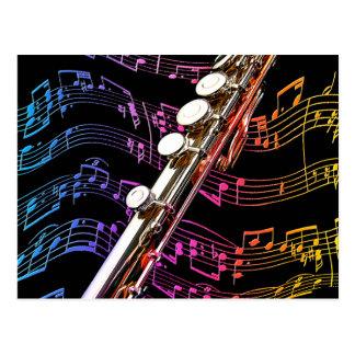 Flöte ist mein Passion_ Postkarte