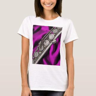Flöten-oder Flutist-Musiker-T-Shirt T-Shirt