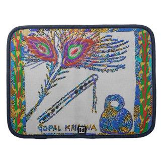 Flöten-Pfau-Federn - Gopal Krishna Folio Planer