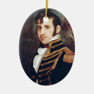 Flottenadmiral Stephen Decatur Keramik Ornament