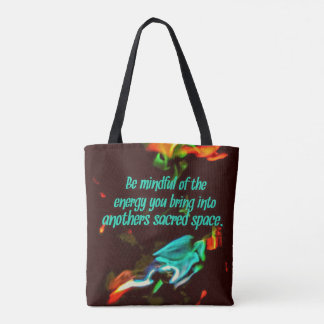 Flourescent Flammen-aufmerksame Energie Tasche