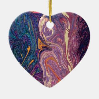 Flowdance Keramik Herz-Ornament