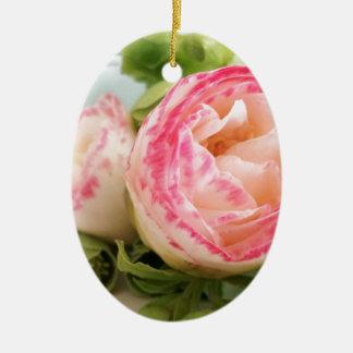 flower keramik ornament