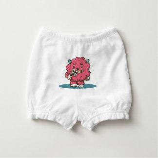 Flower power Pink monster Baby-Windelhöschen