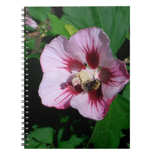 Flower Spiral Fotonotizbuch Spiral Notizblock