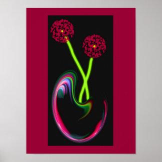 FlowerArt Poster
