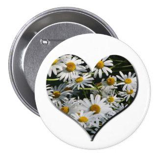 FlowerHeart Anstecknadelbuttons