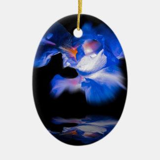 Flowermagic Ovales Keramik Ornament