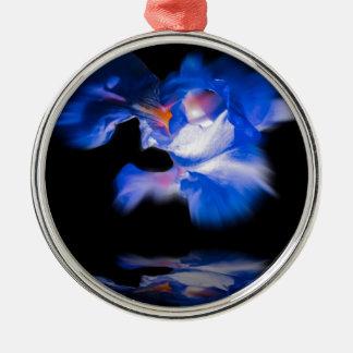 Flowermagic Silbernes Ornament