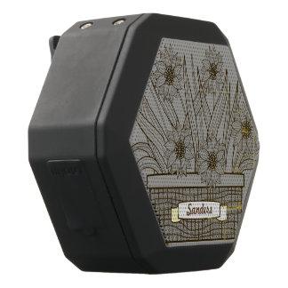 Flowerpot Schwarze Bluetooth Lautsprecher