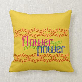flowerpower - Wendekissen in drei Größen (100% BW) Kissen