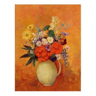 Flowers, 1910 postkarte