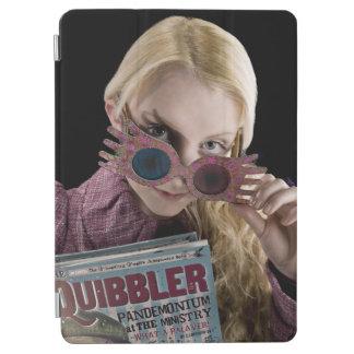 Flüchtige Blicke Lunas Lovegood über Gläsern iPad Air Cover