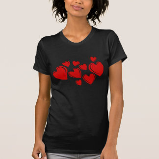 flüchtige Herzen T-Shirt