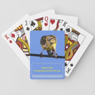 Flüchtiger Blick ein Boo Birdie Spielkarten