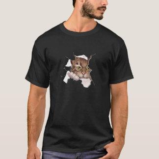 Flüchtiger Blick ein BooKitty 2 T-Shirt