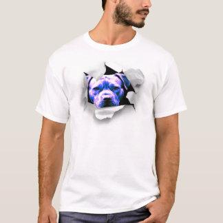 Flüchtiger Blick eine Boo-Grube Stier T-Shirt