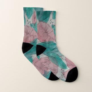 flüchtiger contempory ursprünglicher Kunstmit Socken