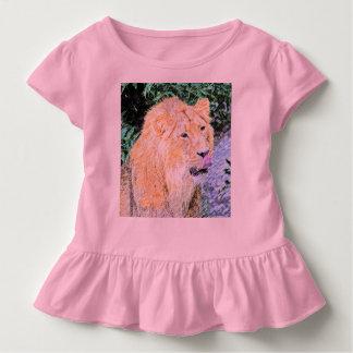 flüchtiger Löwekönig Kleinkind T-shirt