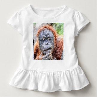 flüchtiges orang kleinkind t-shirt